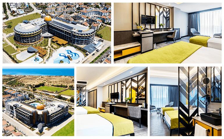 Arnor De Luxe Hotel & Spa genel görünüm ve oda resimleri